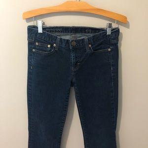 J. Crew bootcut dark wash jeans